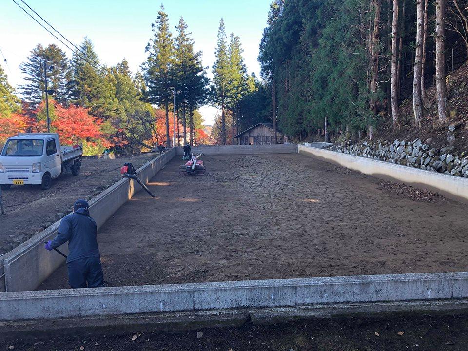 日光天然の氷・四代目徳次郎 今年も天然氷作りの準備が始まりました。