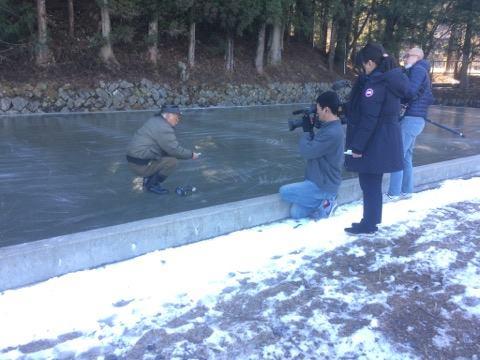 四代目徳次郎天然の氷 日テレ・ニュースエブリィで放送されました。