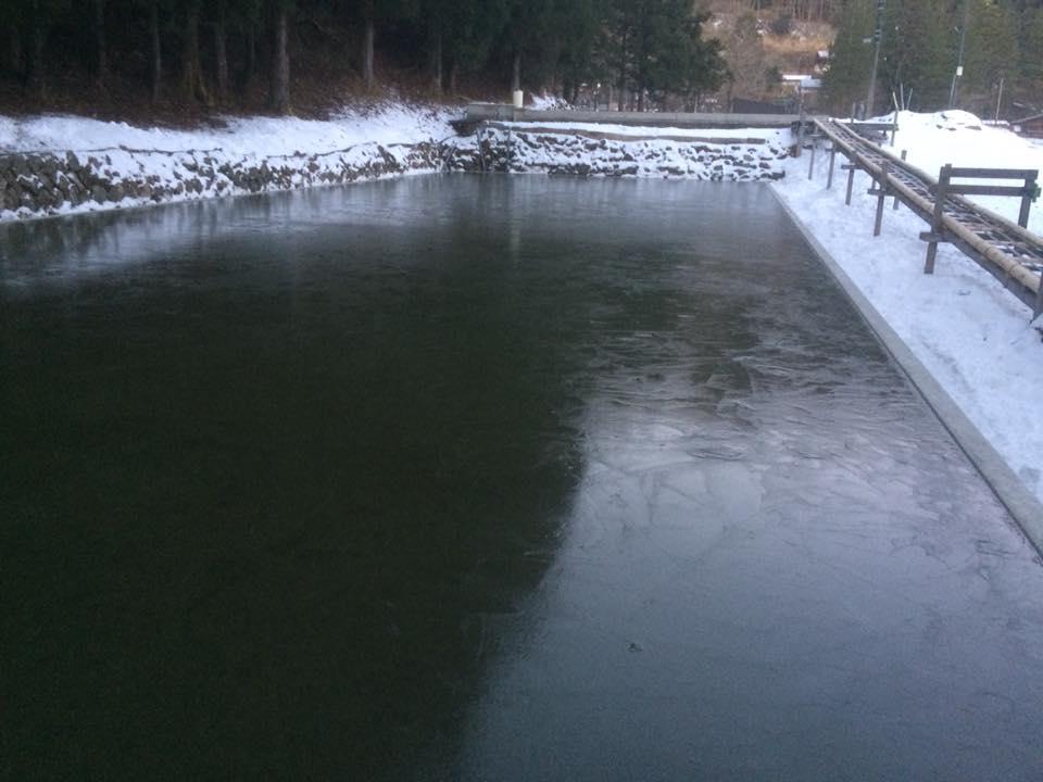 四代目徳次郎天然の氷 第1回目の切り出し日決定しました。(1月5・6日)